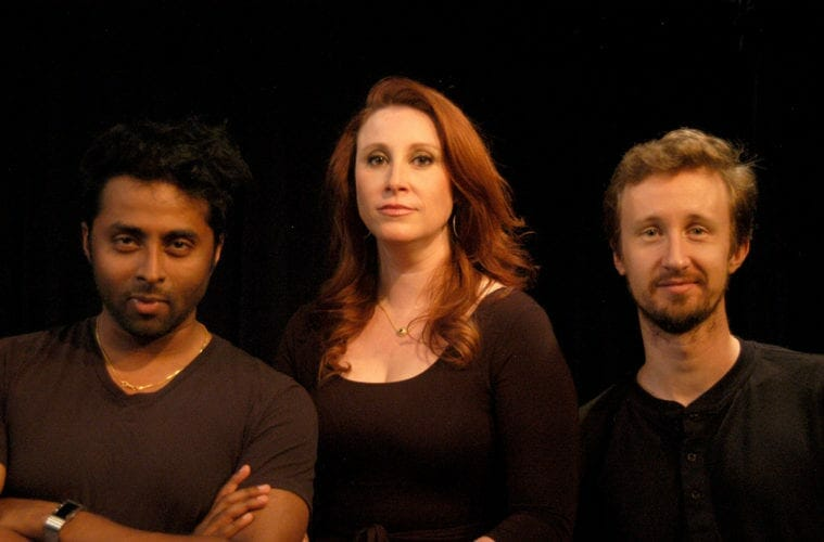 Tamil Periasamy, Erin Greenway and Chris Schulz, photo credit Judy Thomas