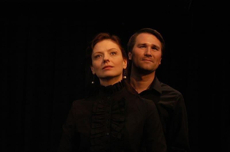 Christine Leidel and Eric Lang, photo credit Judy Thomas.