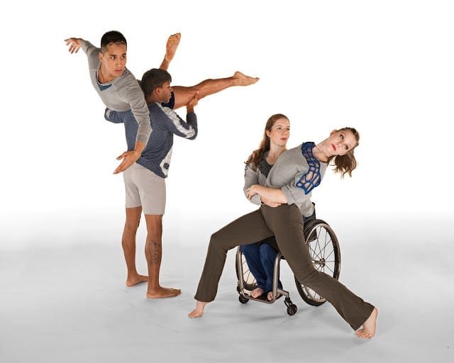 Full Radius Dance melds wheelchairs into its performances. (photo Scott Nilsson)