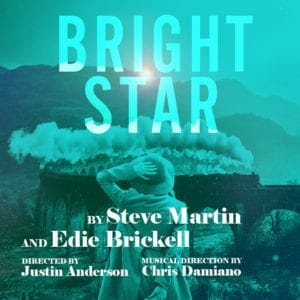 "Georgia Ensemble Theatre's poster for the musical ""Bright Star."""
