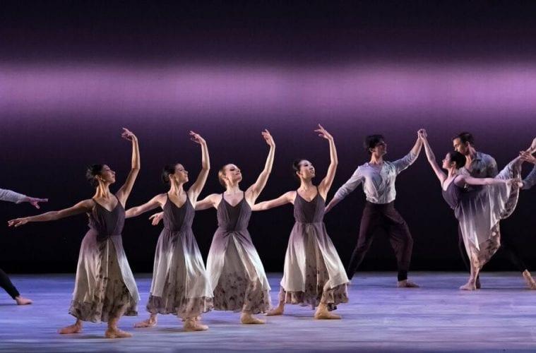Atlanta Ballet dancers onstage.