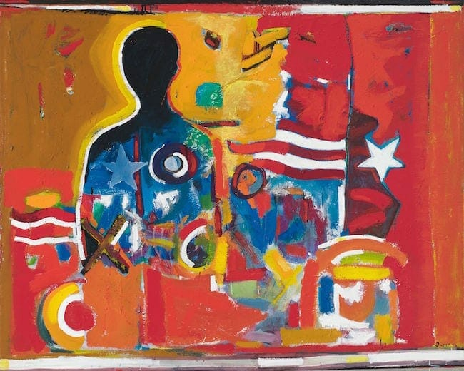 """""""Ghetto Wall #2"""" by David C. Driskell"""