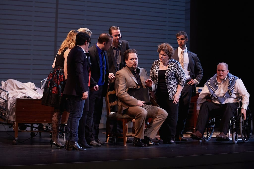 Gianni Schicchi showed the promise of opera at the festival. (Photo by Elizabeth Leitzell)
