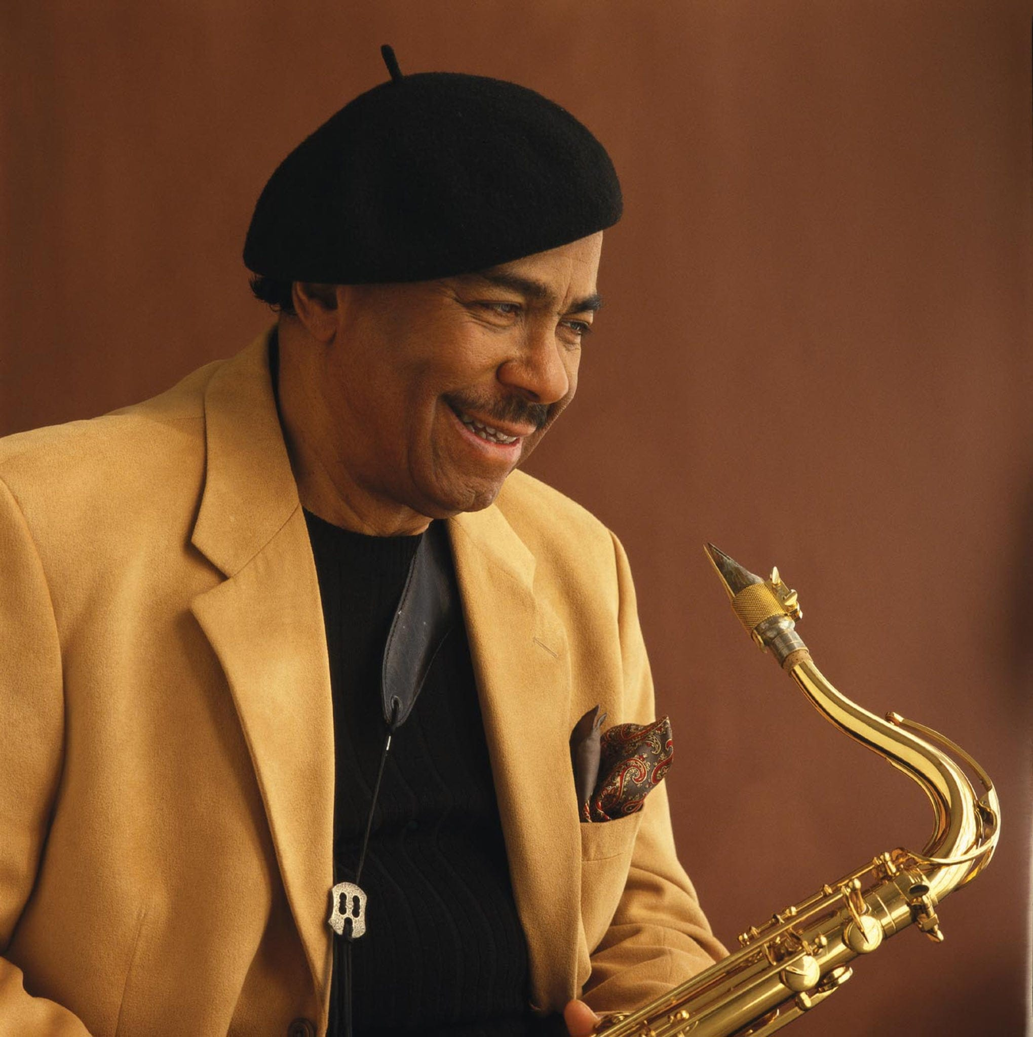 Jazz saxophonist Benny Golson. (Photo by Lisas Stein)