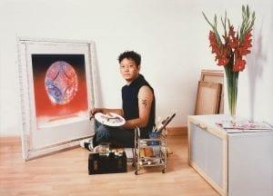"""Gonkar Gyatso """"My Identity 4"""" (2003) C-Print 43x50cm. Image courtesy the artist."""