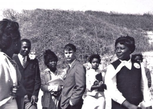 Greg WhittKamper and the African-American students who desegregated Americus High School. (1964)
