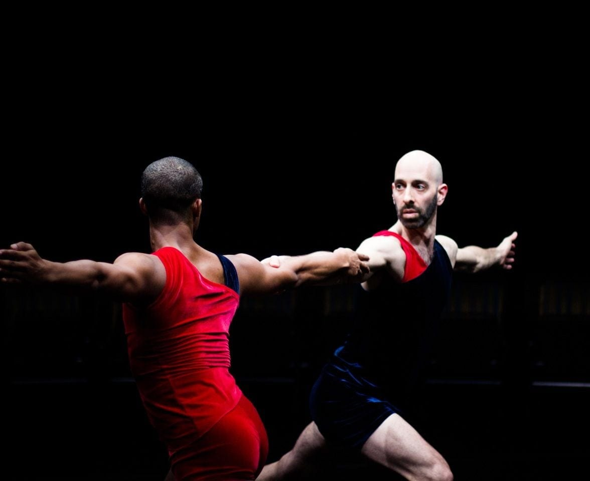 Jonathan Alsberry and Daniel Gwirtzman (right) appeared last May in The Oracle. Photo by Anna Kuzmina. (Photo courtesy of Daniel Gwirtzman Dance Company)