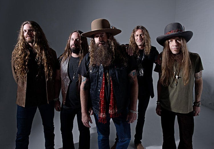The band Blackberry Smoke