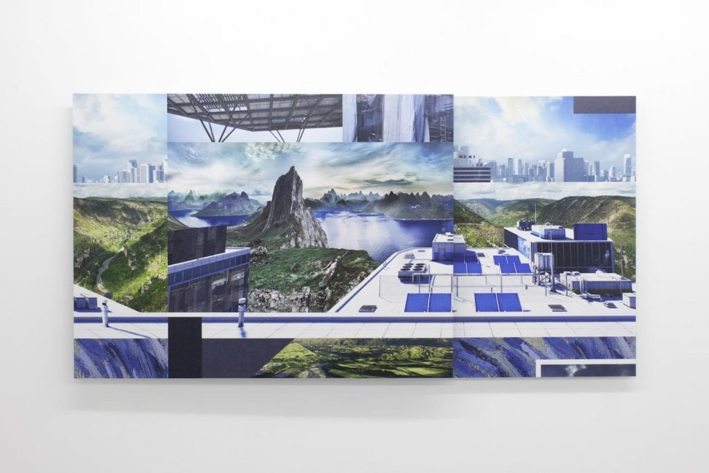 Joe Hamilton, IKEA Roof Terrace, 2014. Digital c-type prints mounted on composite aluminum. Courtesy of the artist.