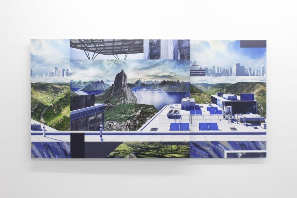 Joe Hamilton, IKEA Roof Terrace, 2014. Digital c-type prints mounted on composite aluminum. Courtesy of the artist.