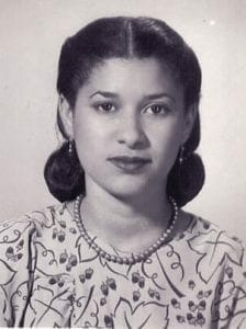 Azira Hill at the age of 15 when she moved to Atlanta.