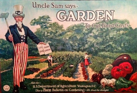 Garden poster, National Archives, Records of the United States Food Administration