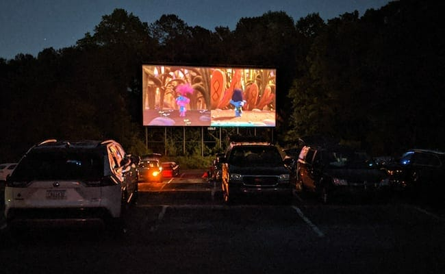 Starlight Drive-In reopened April 2020