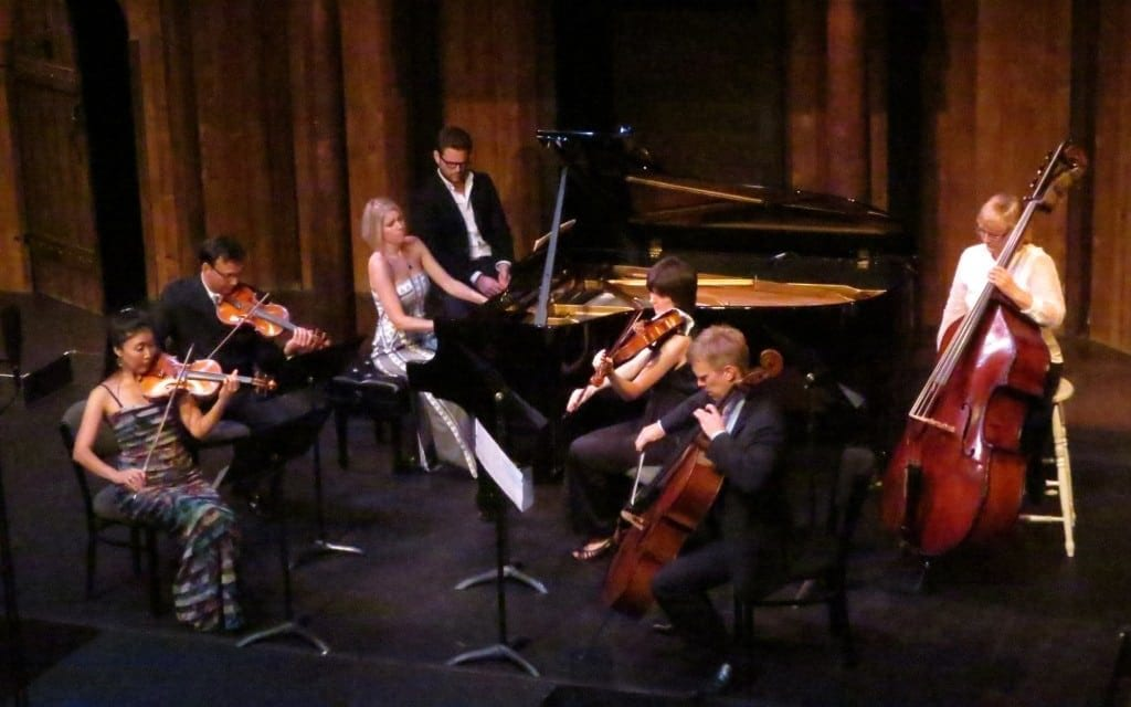 The Atlanta Chamber Players at the New American Shakespeare Tavern. (Photo by Mark Gresham)
