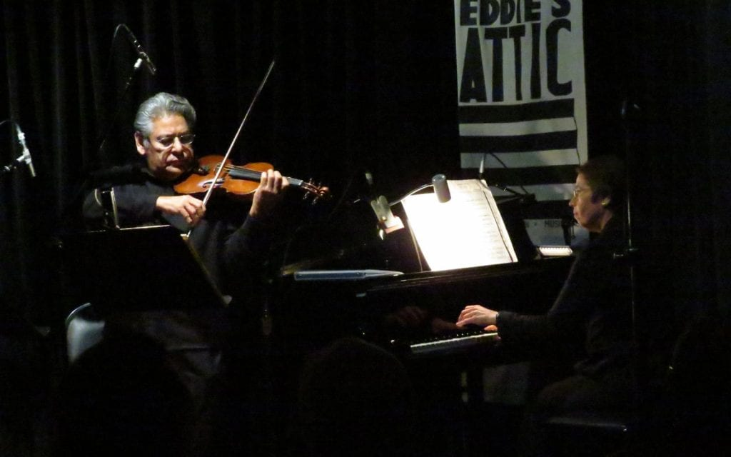 """Juan Ramirez and Sharon Berenson perform Piazzolla's """"Libertango."""" (Photo by Mark Gresham)"""