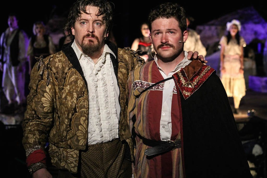 """The Man From La Mancha""  lacks the sizzle of other Serenbe productions. (Photos courtesy Serenbe Playhouse)"