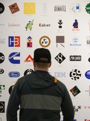 Logos designed by Rand.
