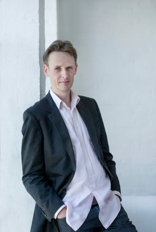 "Tenor Ian Bostridge sang ""The Folly of Desire"" program."
