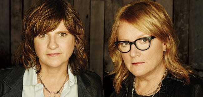 Publicity shot of The Indigo Girls