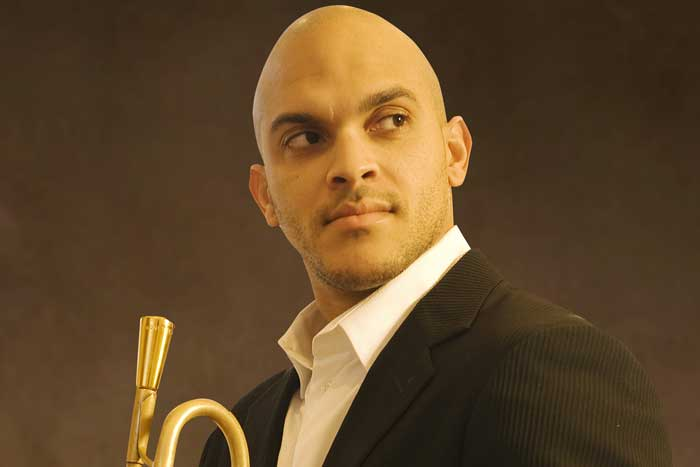 Trumpeter Irvin Mayfield brings his big band to the Emory Jazz Festival.