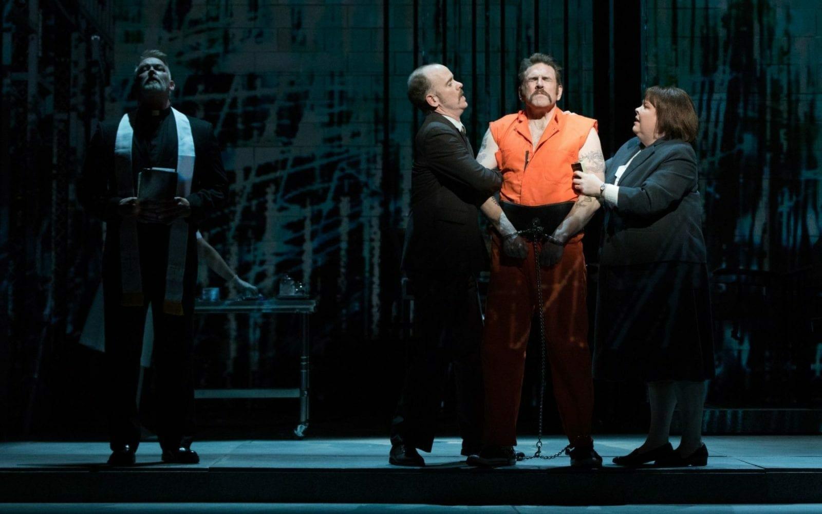 Opera singers onstage with The Atlanta Opera.