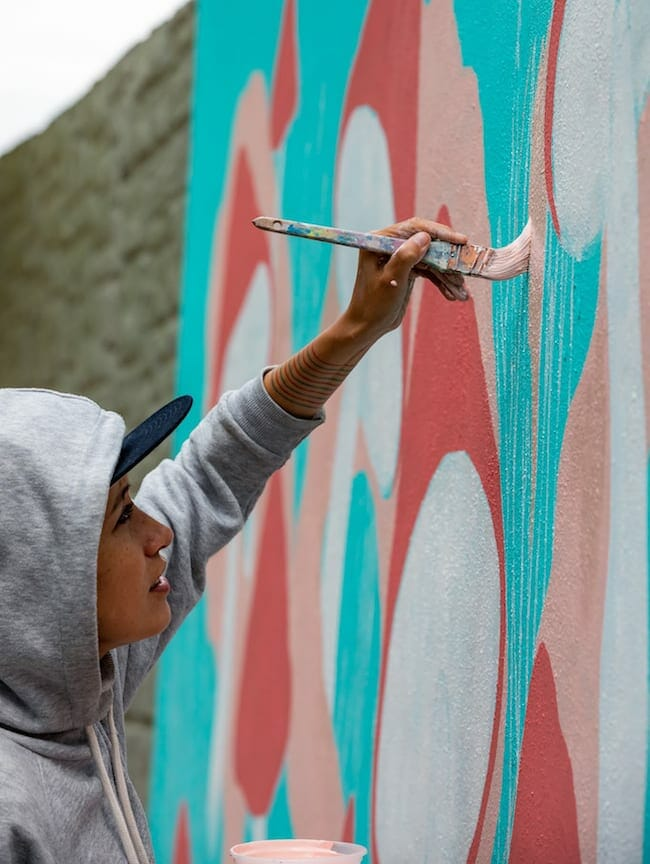 Atl street artist Angie Jerez