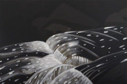 Alex Katz: Black Brook 11, 1990, oil on linen. Courtesy Peter Blum Gallery, New York. © Alex Katz/Licensed by VAGA, New York, NY.