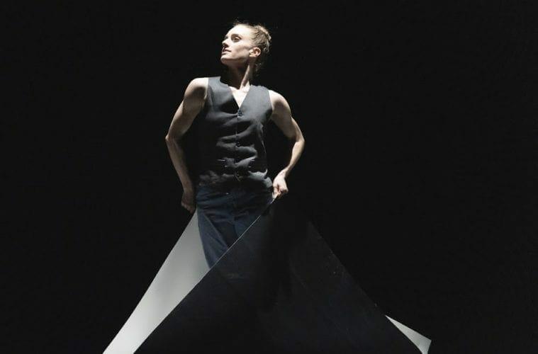 """Atlanta Ballet's Jackie Nash dances in """"Heart/Beat."""""""