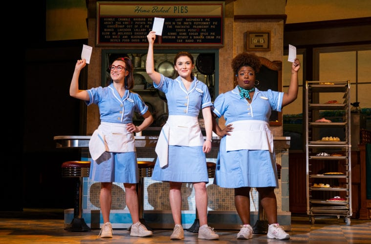 Local actors take the stage in Waitress at the Fox Theatre