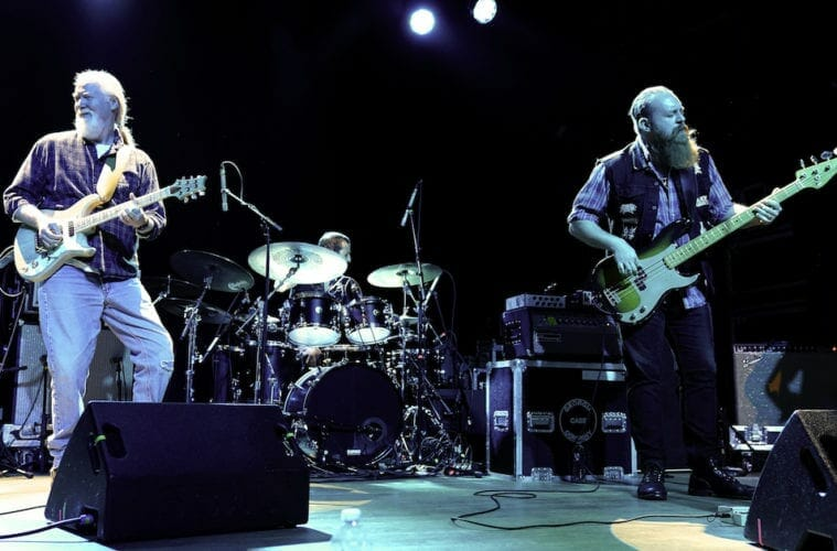 Jimmy Herring plays his guitar at the Variety Playhouse.