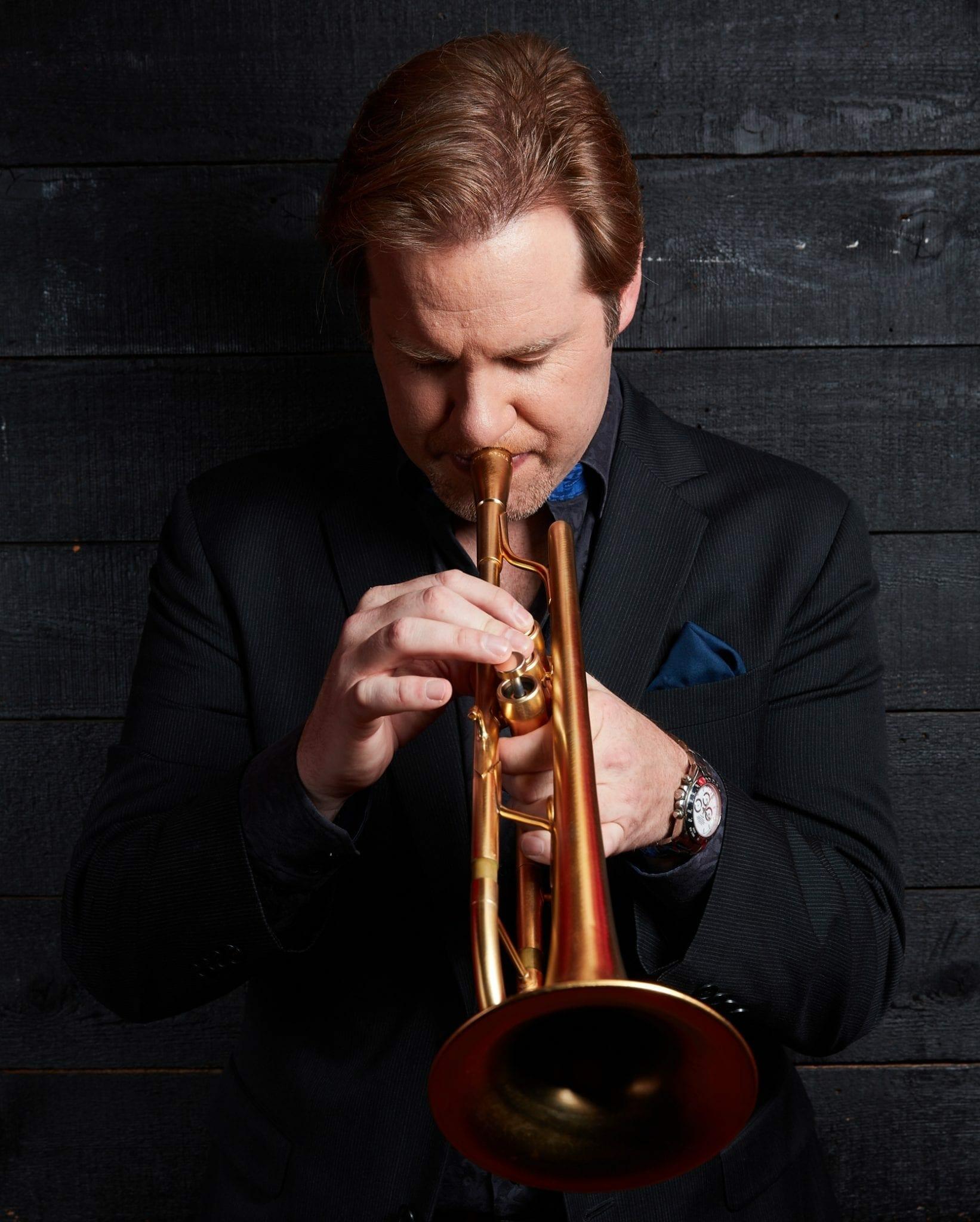 Jazz trumpeter Joe Gransden