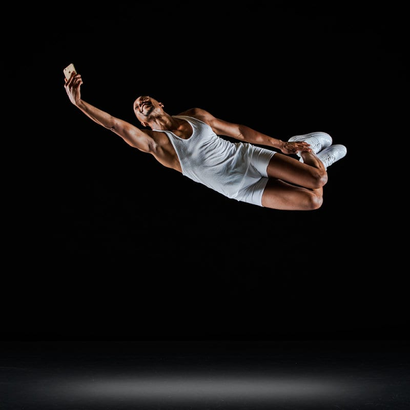 Lane has excelled as a dancer and a creator of dance. (Photo by Richard Calmes)