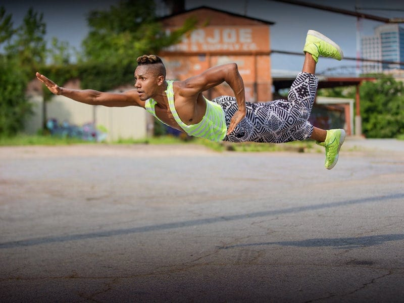 The career of choreographer Juel D. Lane is flying high. (Photos by Richard Calmes)