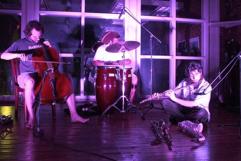 Music performance at Eyedrum