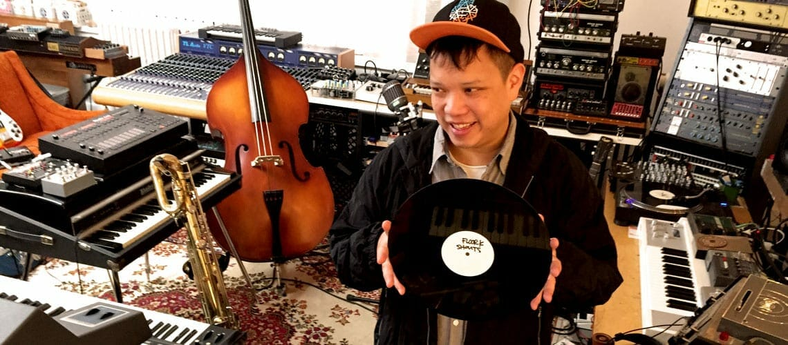 DJ Kid Koala holds a record.