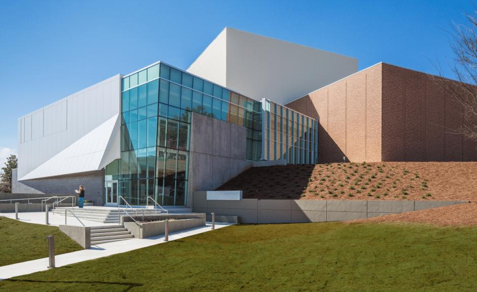 KSU's Bernard A. Zuckerman Museum of Art, designed by Stanley Beaman & Sears.
