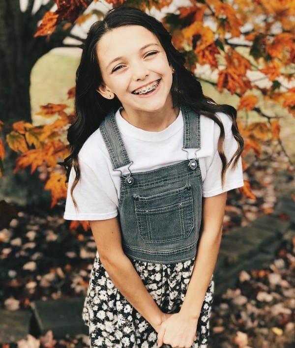 Karah Adams of Cumming, age 12. winter 2019