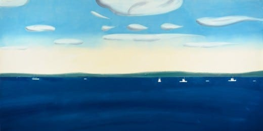Alex Katz: 4:30 PM, 2007. Oil on linen. Collection of the artist. Photography by Paul Takeuchi. © Alex Katz/Licensed by VAGA, New York, NY.