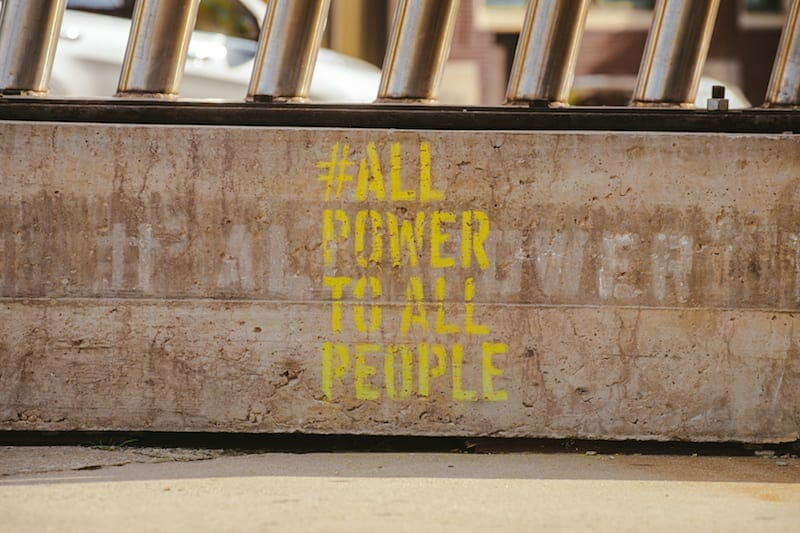 Hank Willis Thomas ALL POWER TO ALL PEOPLE July-Aug 2020