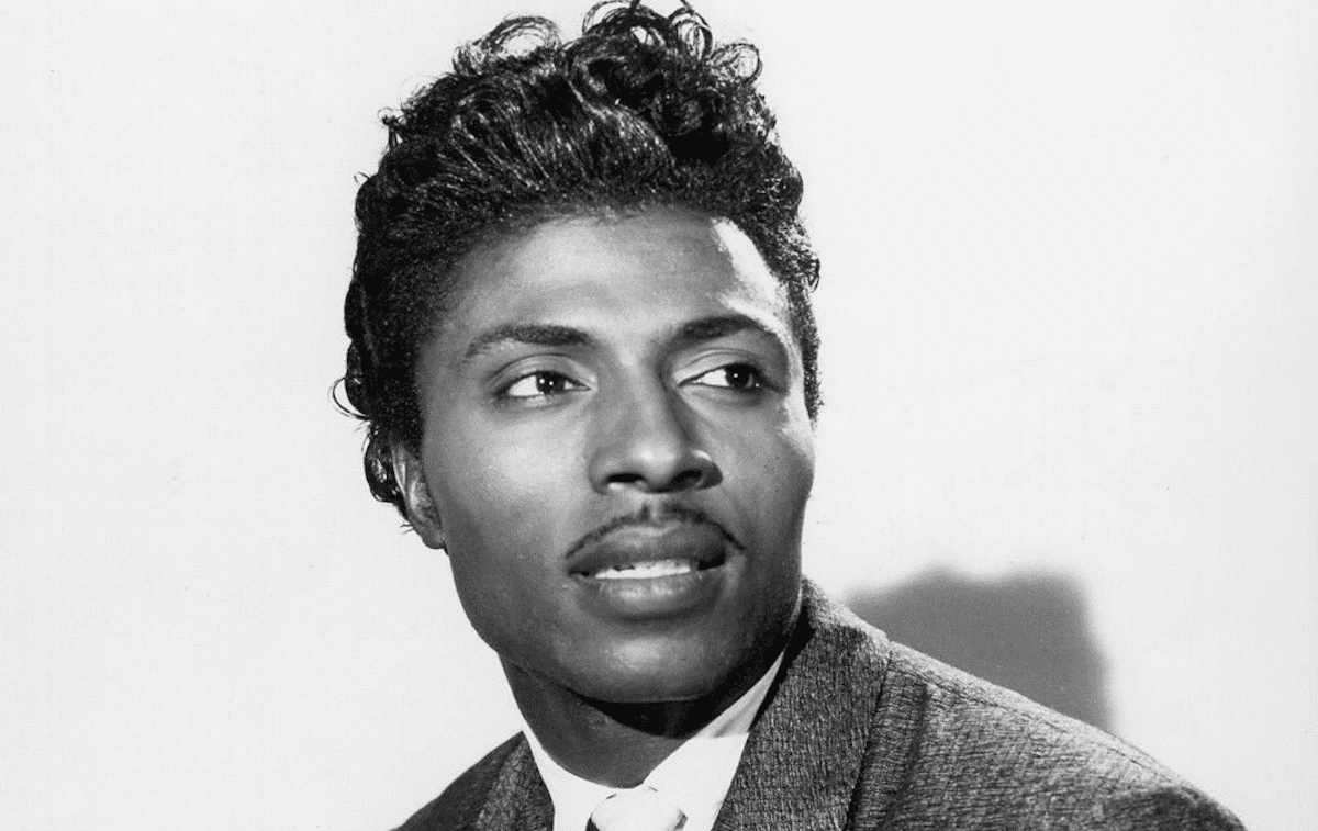 Publicity photo of a young Little Richard