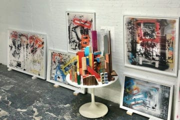 Lloyd Benjamin - Auto Abstracts and Sculptures - Sandler Hudson - July 2020