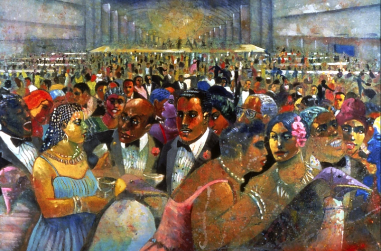 """""""The Cotillion"""" by Louis Delsarte"""