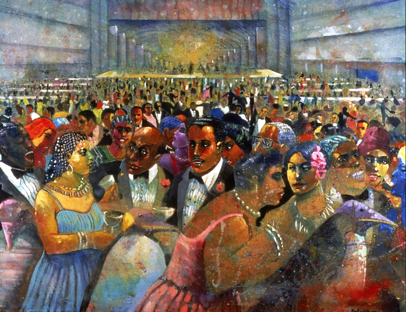 """The Cotillion Ball"" by Louis Delsarte"
