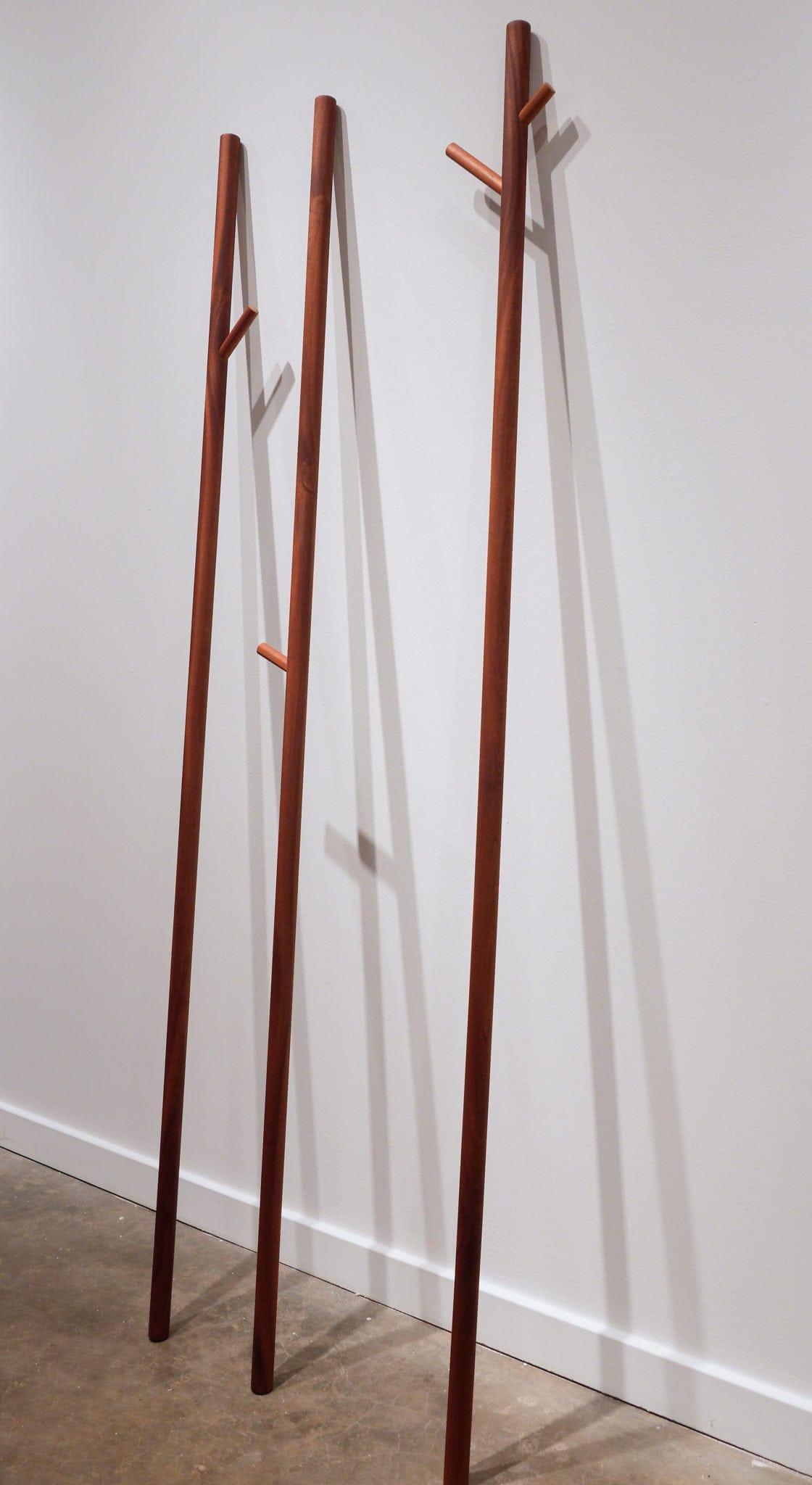 """MB315,"" wood. Photo courtesy Sandler Hudson Gallery."