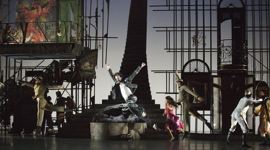 The set, designed by David Finn and Emma Kingsbury, was one of the stars of the production.