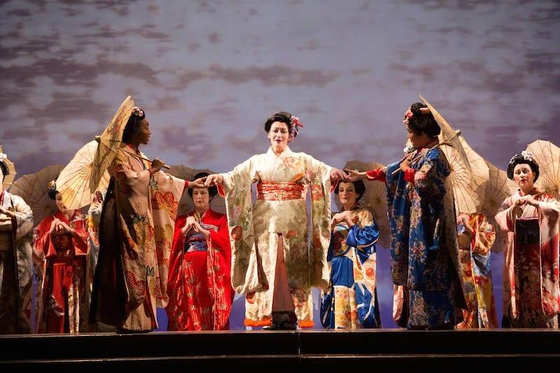 """Atlanta Opera's """"Madam Butterfly."""" (Photo by Jeff Roffman)"""
