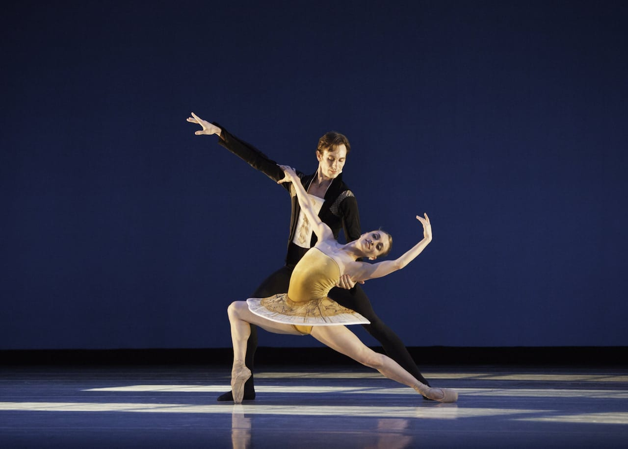 Christian Clark and Jackie Nash  in Classical Symphony. (Photo by Charlie McCullers)