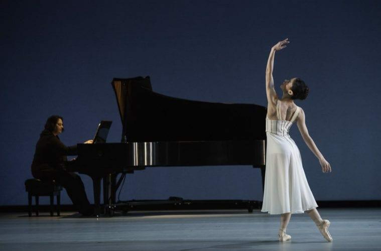 Nadia Mara dancing with Atlanta Ballet