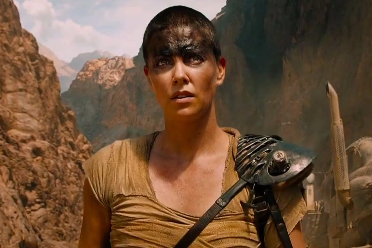Charlize Theron is the gender-bending true action hero.