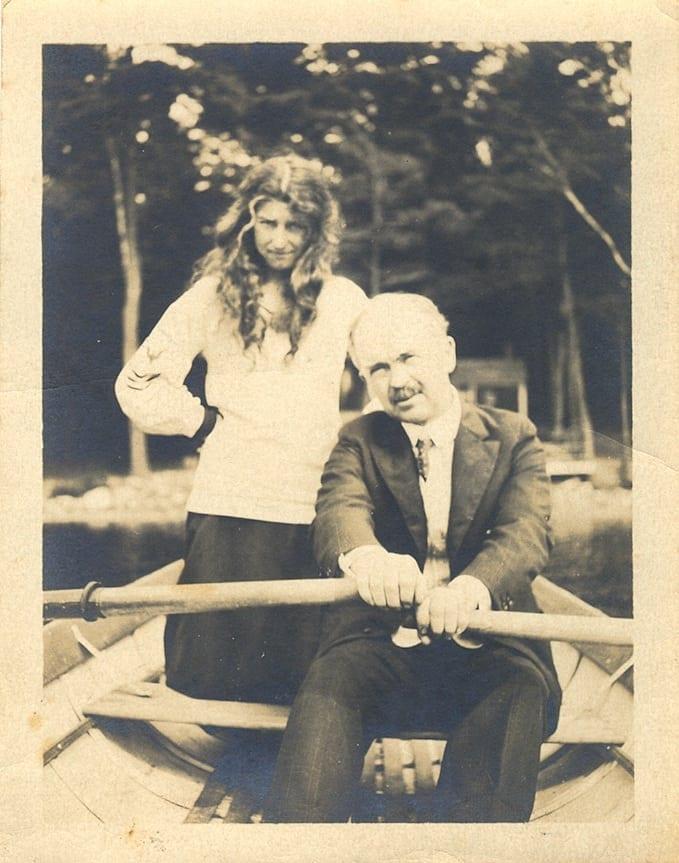Mary & Jay Hambidge, founders of the Hambidge Residency Program.